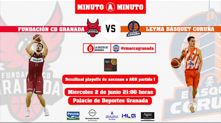 Minuto a minuto Playoffs de ascenso partido 1 Fundación vs Leyma Coruña