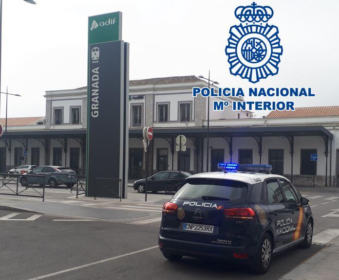 Policia-Estacion-Tren